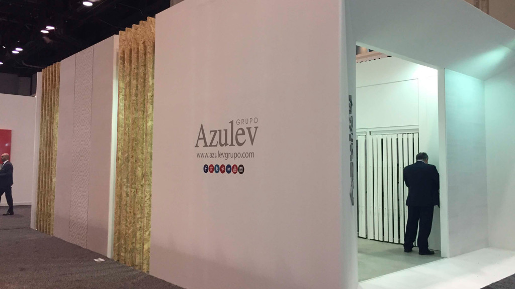 Azulev Grupo at Coverings 2017