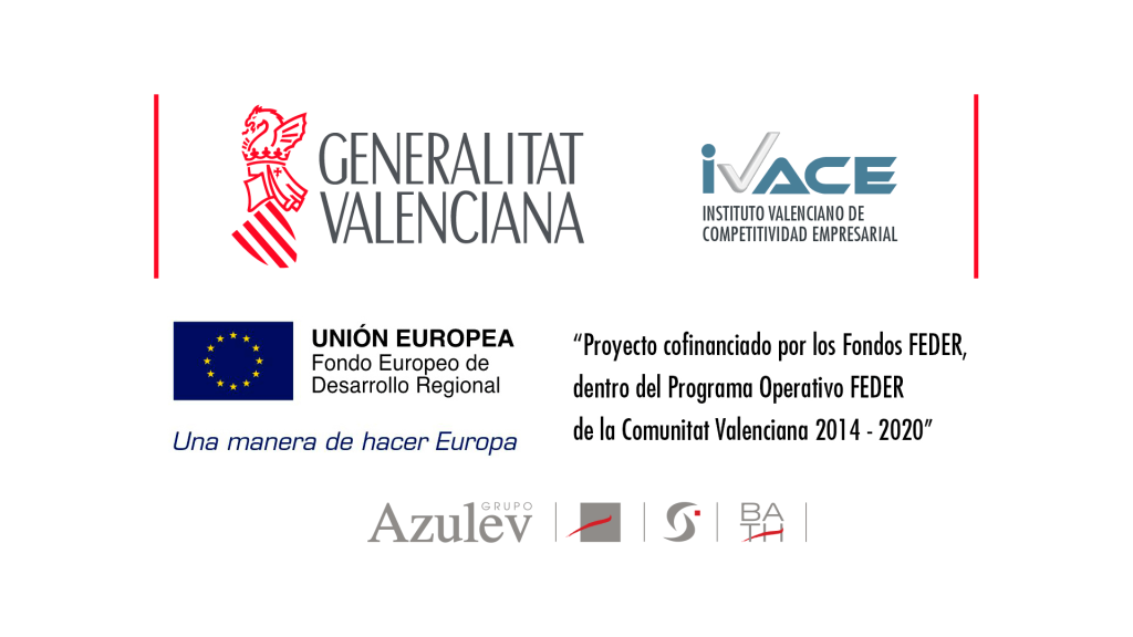 Project Azulev, S.A Internationalisation Plan for 2016, co-financed by IVACE and FEDER